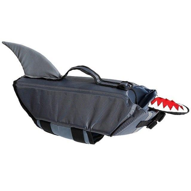 french bulldog life swimming jacket