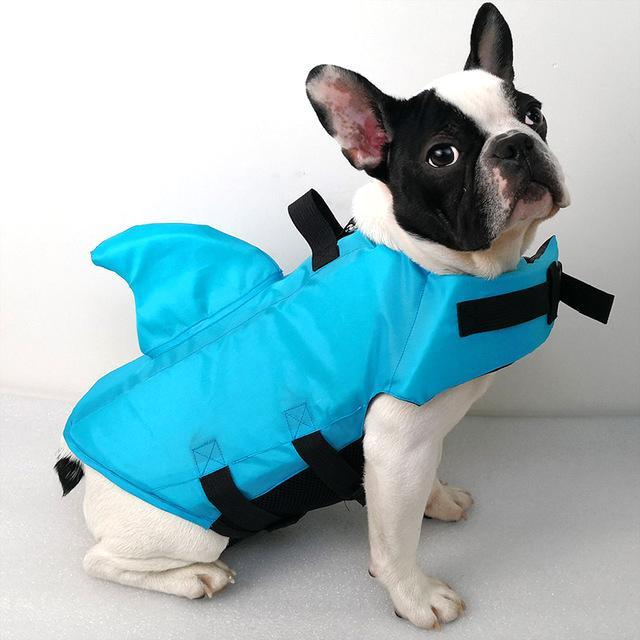shark dog safety life jacket