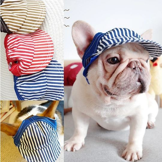 french bulldog caps
