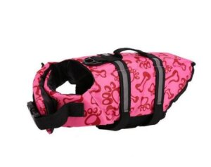 french bulldog life swimming vest