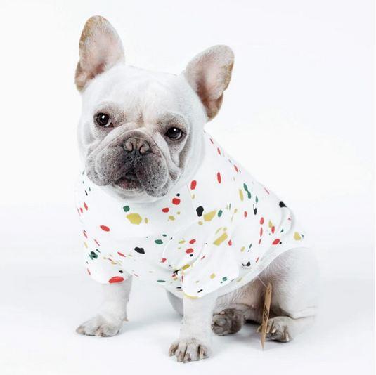 mud splash dog tank shirt