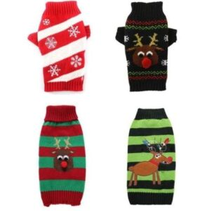 christmas ugly sweaters for french bulldogs