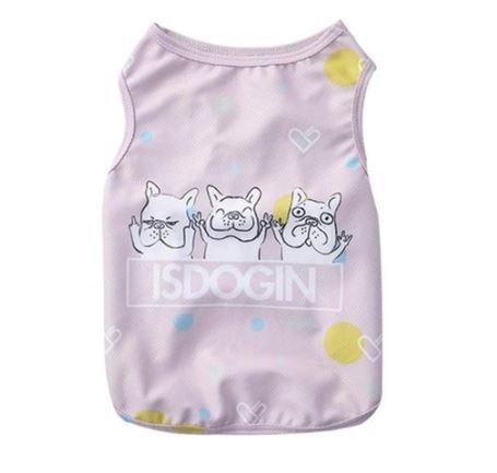 French Bulldog Mesh Summer Cooling Vest
