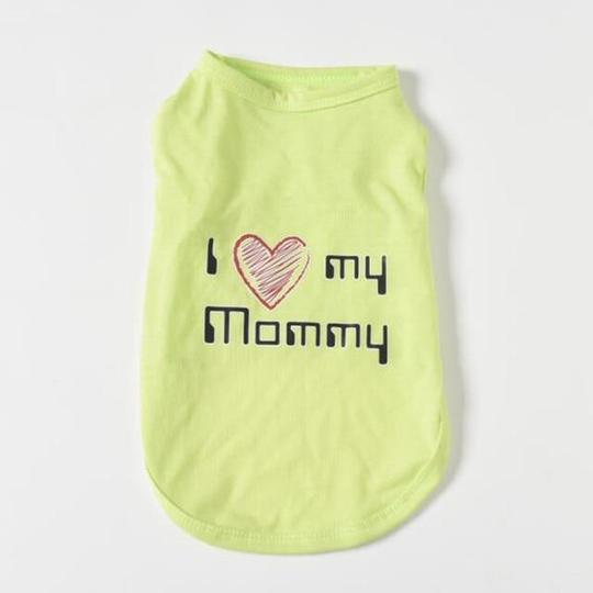 i love my mommy frenchie t shirt frenchie world shop mom green m 16941069500565 540x