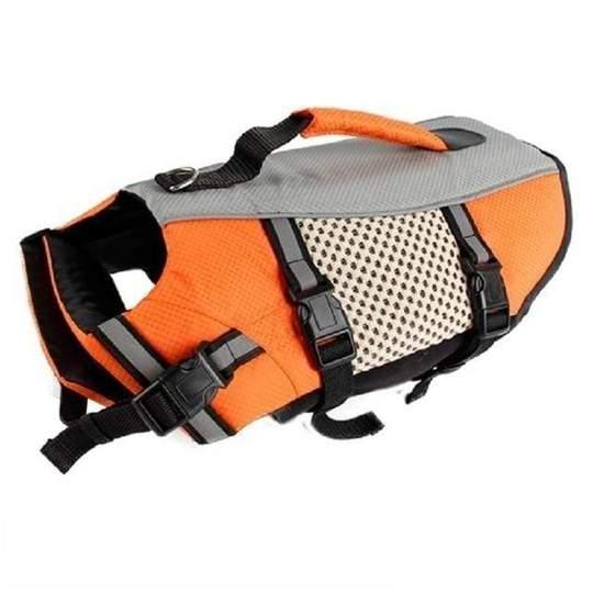 french bulldog swimming life jacket frenchie world shop orange l 16534266085421 540x