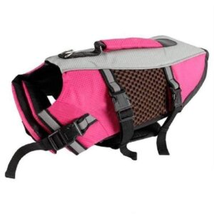 french bulldog swimming life jacket frenchie world shop rose red l 16534266445869 590x