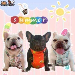 summer adventures french bulldog cooling vest