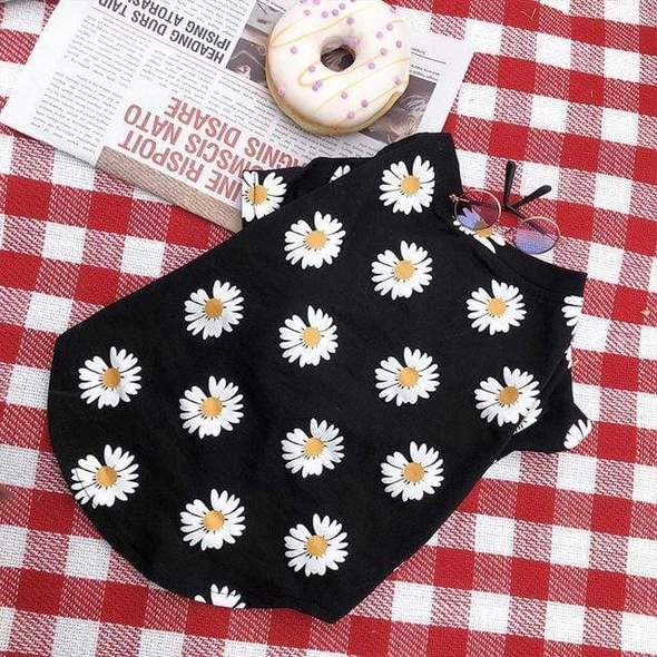 floral summer daisy frenchie tee frenchie world shop black s 31589714460821 590x