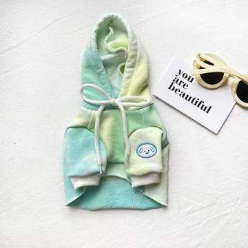 tie dye cropped french bulldog hoodie frenchie world shop hoodie green xl 27222167617685 360x