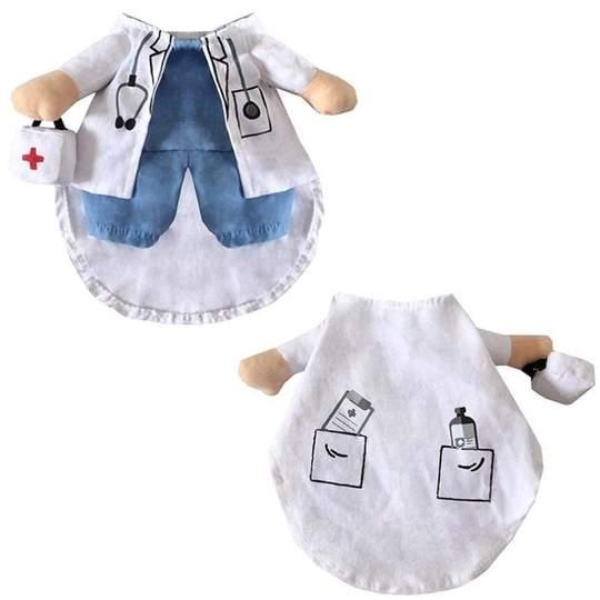 doctor and nurse halloween dog costume frenchie world shop 3698145427557 540x