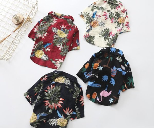 french bulldog hawaiian shirts