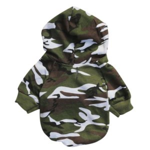 frenchie world camouflage hoodie