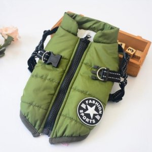 frenchie world waterproof winter vest